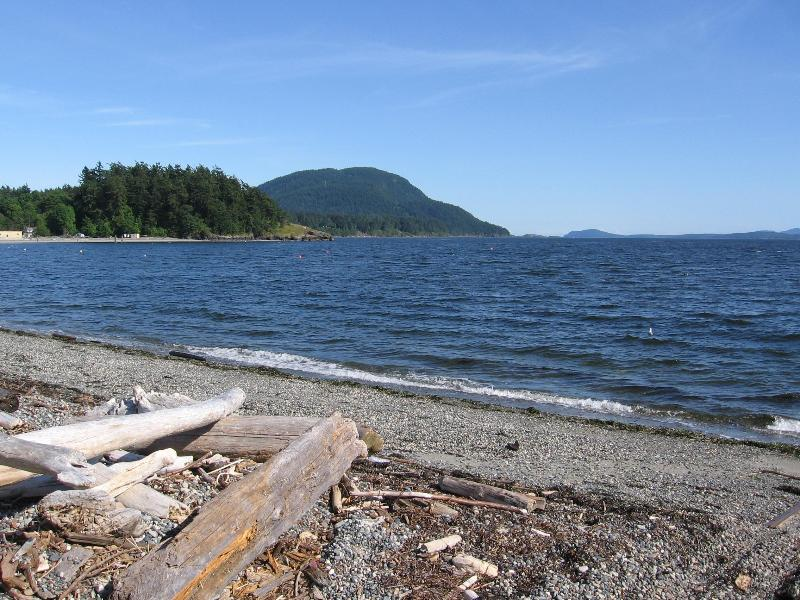 View of Lummi Mt. and Legoe Bay - Fisherman's Bay - Private Beach, 4BR, Pet Friendly - Lummi Island - rentals