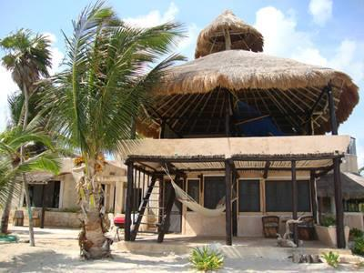 Beach House in the  Caribean Sea of the Riviera Maya - Image 1 - Playa del Secreto - rentals
