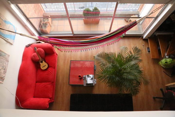 living room - Modern loft with unique 180º view - Bogota - rentals