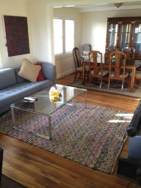 Living - One Bedroom House (CAR AVAILABLE) - Oakland - rentals
