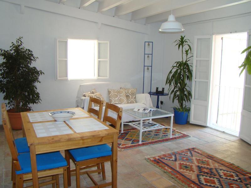 salon - Mediterranean penthouse with terrace in historic center of Palma - Palma de Mallorca - rentals