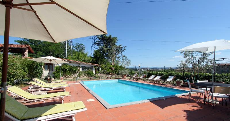 Pool - Medici Countryhouse apt. 2 - Florence - rentals