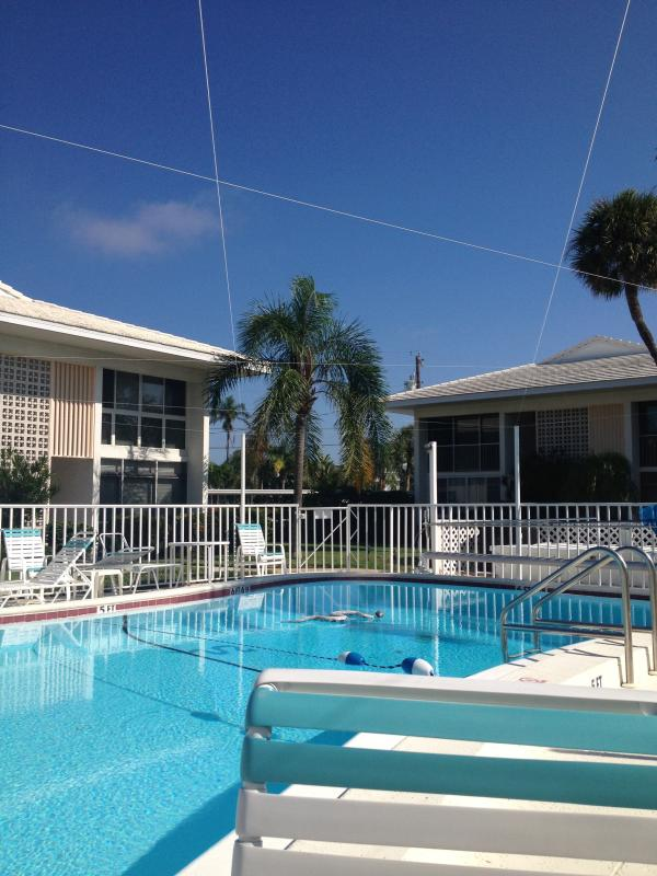 Pool right outside the unit - Anna Maria Island--Two Month Min.--Gorgeous! - Holmes Beach - rentals