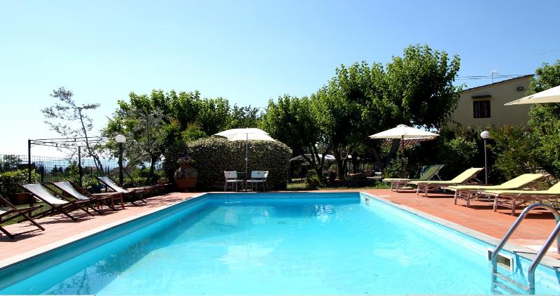 Pool - Medici Countryhouse apt. 1 - Florence - rentals