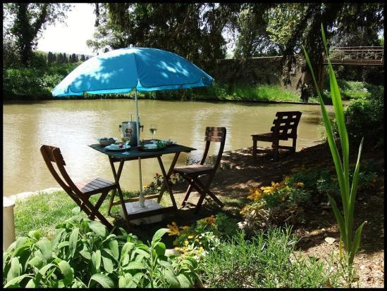 Canalside herb garden - Millepetit Cottage - Canal du Midi - Carcassonne - Carcassonne - rentals