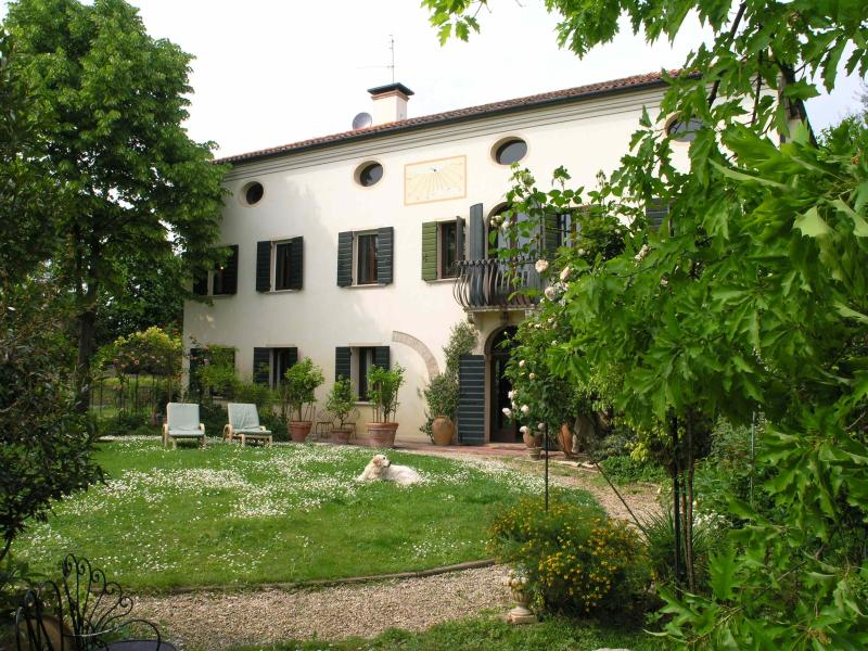 Villa Emy from the garden - Villa Emy - XVIII century house in the interland of Venice - Stra - rentals