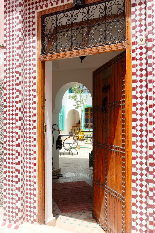 PORTE D'ENTREE - Dar Aida confort et tradition - Marrakech - rentals
