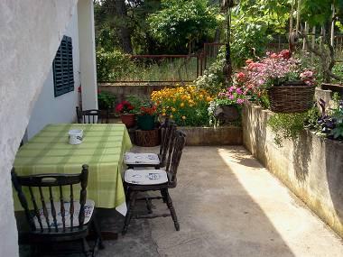 A1(4+2): terrace - 35573  A1(4+2) - Stomorska - Stomorska - rentals
