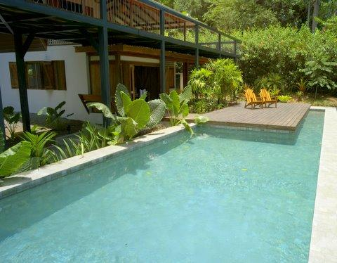 Pool Area - Ocean View  And  Swimming Pool - Puerto Viejo de Talamanca - rentals