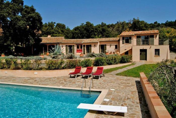 4 bedroom Villa in La Garde Freinet, Saint Tropez Var, France : ref 2017890 - Image 1 - La Garde-Freinet - rentals