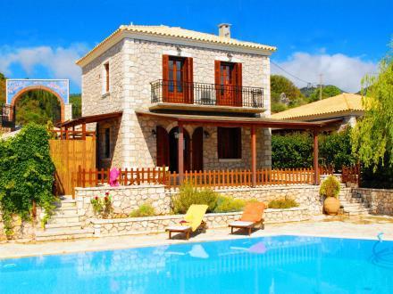 2 bedroom Villa in Lefkada, Greece : ref 2097988 - Image 1 - Vafkeri - rentals