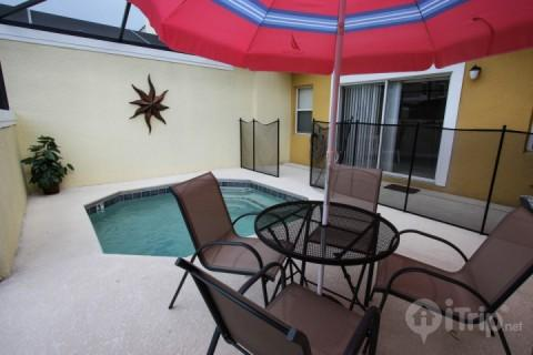 Private splash pool - Luxury 4 Bedroom Townhouse with a Pool at Bella Vida - Kissimmee - rentals