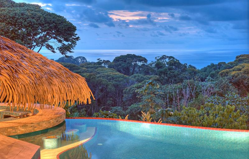 Lovely views all year long Sunsets are amazing! - Villa Tucan Tango - Luxury-  Infinity Pool - Spect - Dominical - rentals
