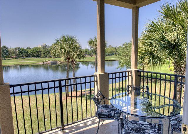 Balcony Overlooking Lake - Relax and Enjoy 'Turnberry Tee-Time' On The Resort! Spring Is Almost Here! - Sandestin - rentals