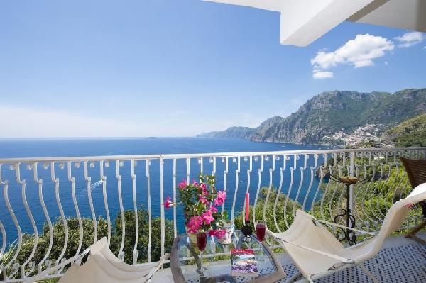 balcony - Villa Arzilla 2 - Positano - rentals