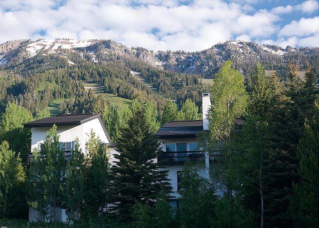 Ski Slope Sanctuary at Jackson Hole! Best price for prime location NEAR TRAM - Image 1 - Teton Village - rentals