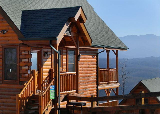 TENNESSEE TREASURE #232- View of the Cabin - Luxury 2bedroom Cabin Legacy Resort Pigeon Forge TN 2miles to Dollywood - Sevierville - rentals