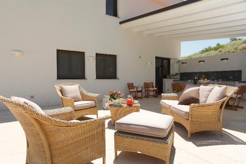 External sofà - Green Villa Mondello, Palermo - Palermo - rentals