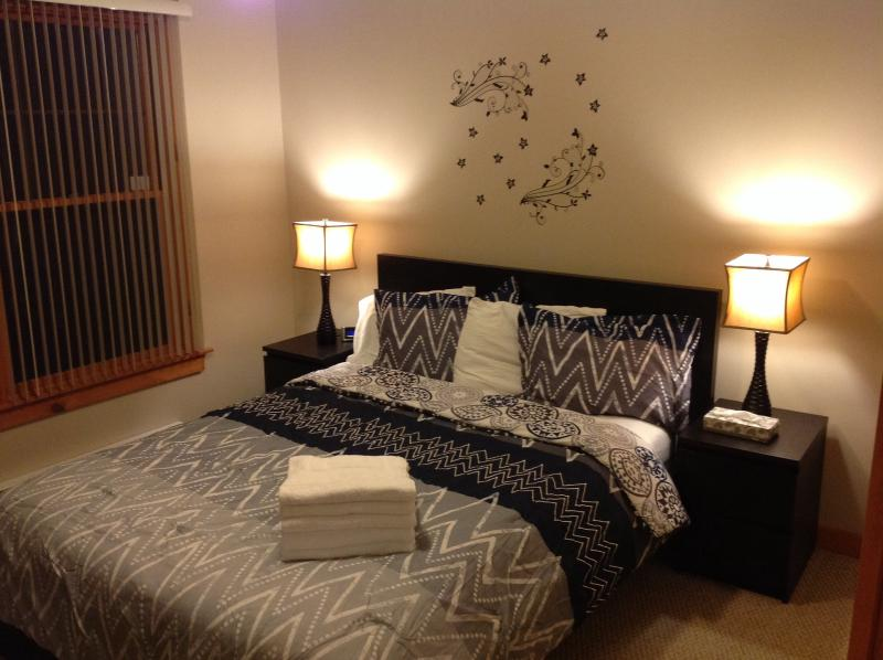 1st floor bedroom - Poconos, Camelback Townhome, Free WIFI, Cable, AC - Tannersville - rentals