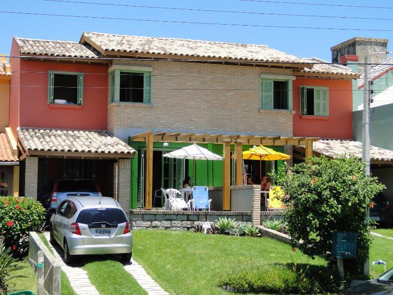 Vista externa da casa - òtima casa na melhor área de Garopaba - SC - Garopaba - rentals