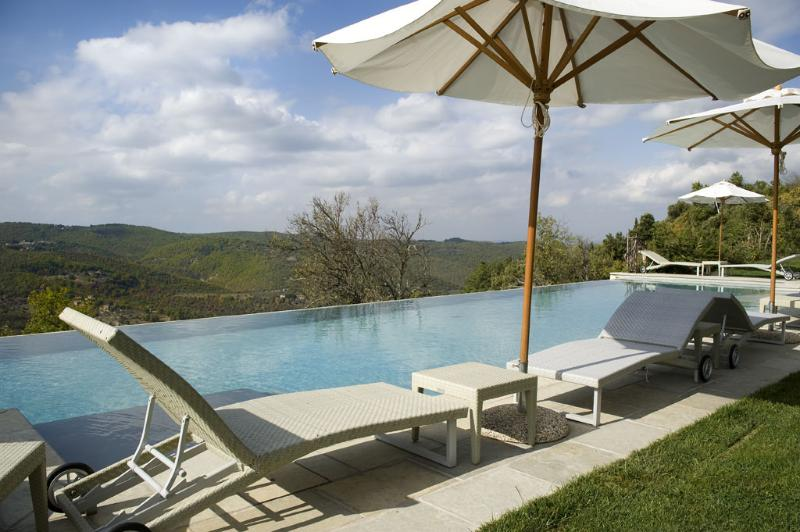 Communal pool - 4 bedroom villa Tuscany (BFY13504) - Castellina In Chianti - rentals