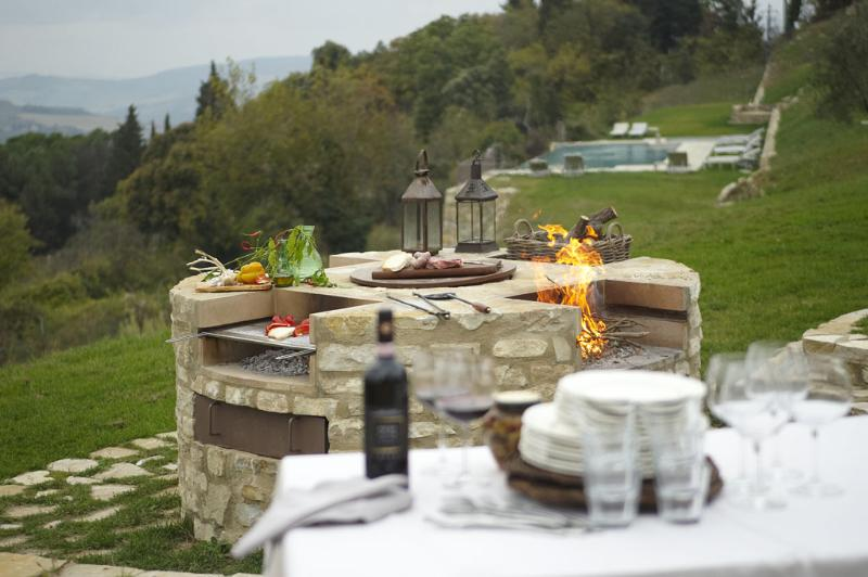 BBQ area - Luxury 2 bedroom villa Tuscany - BFY13507 - Castellina In Chianti - rentals