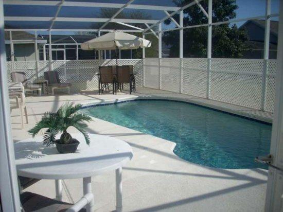 Lovely 4 Bedroom 2 Bathroom Spacious Home With Great Pool. 166LRP - Image 1 - Kissimmee - rentals