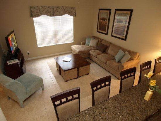 Deluxe 4 Bed 3 BathTownhome at Paradise Palms Resort near Disney. 8953CPR - Image 1 - Orlando - rentals