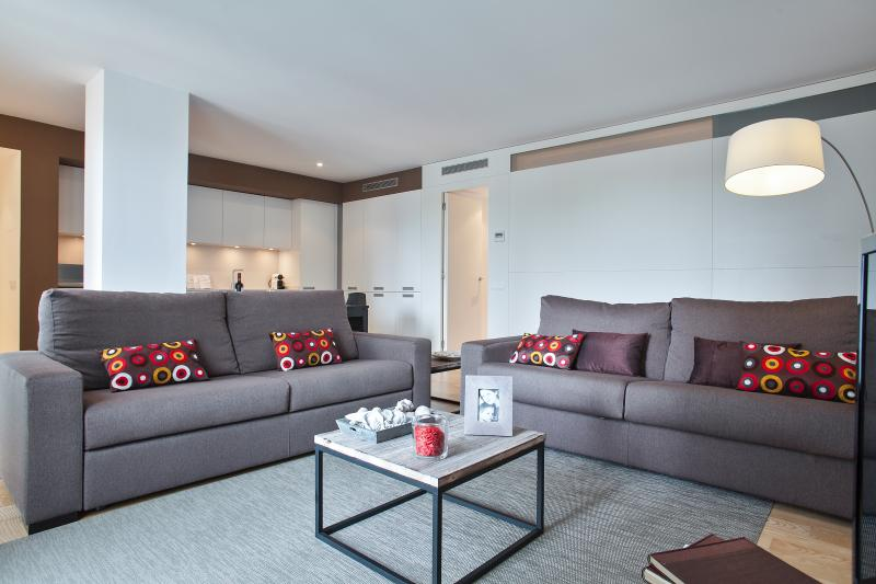 Living Room  - Mistral City Beach Apartment with Pool (3 BR) 1.3  - 10% OFF MARCH STAY - Barcelona - rentals