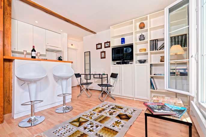 La Turenne Studio Marais - ID# 304 - Image 1 - Paris - rentals