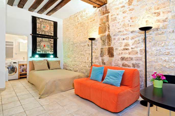 Louis XIV Island Studio - ID# 305 - Image 1 - Paris - rentals