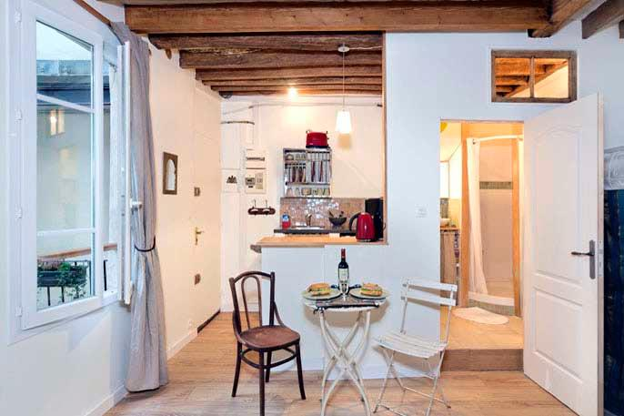 Enchanting Marais Studio - ID# 317 - Image 1 - Paris - rentals