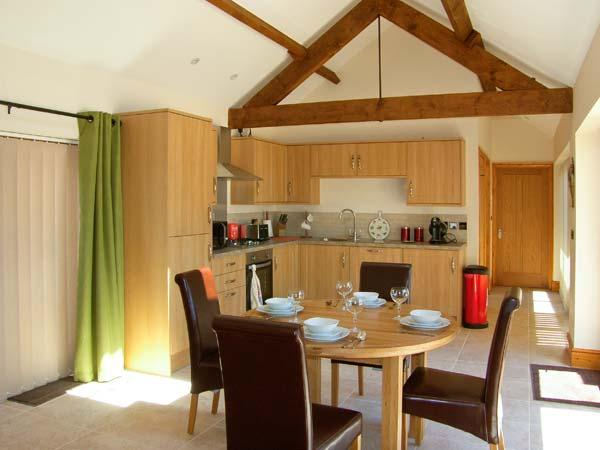 LITTLE HENDRE LODGE, luxury wheelchair-friendly lodge with woodburner, Monmouth - Image 1 - Monmouth - rentals