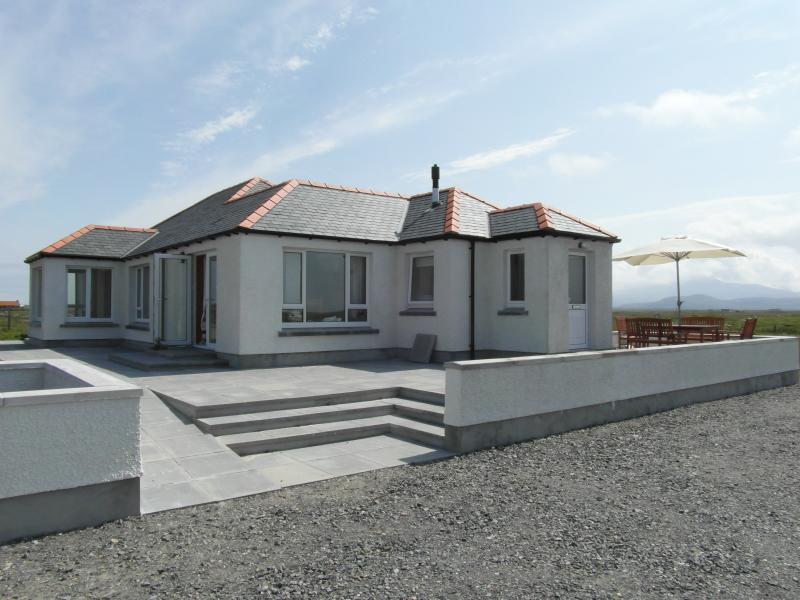 An Taigh Soilleir Near Completion April 2012 - An Taigh Soilleir - South Uist - rentals