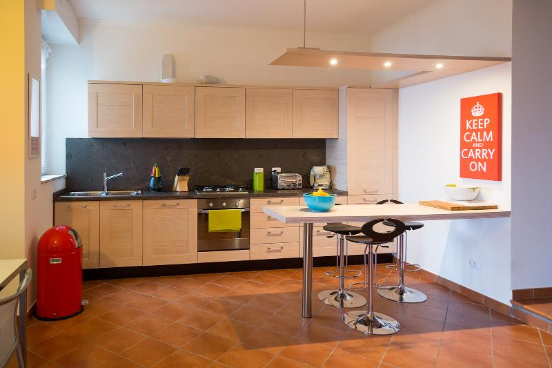 Modern, contemporary kitchen - 2 bedroom apartment near Stresa (BFY13432) - Campino - rentals