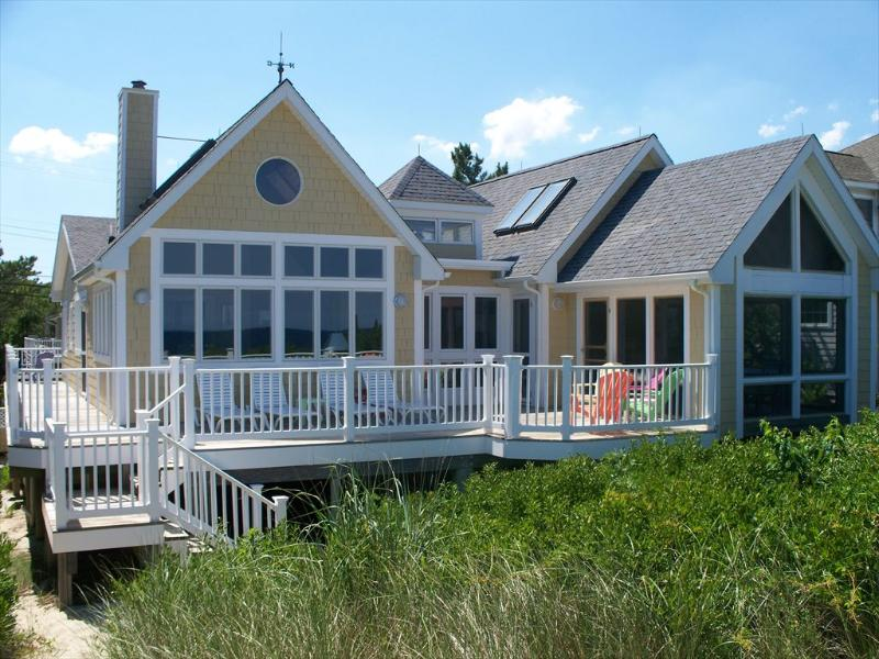 Updated oceanfront home with direct beach access! - Image 1 - Bethany Beach - rentals