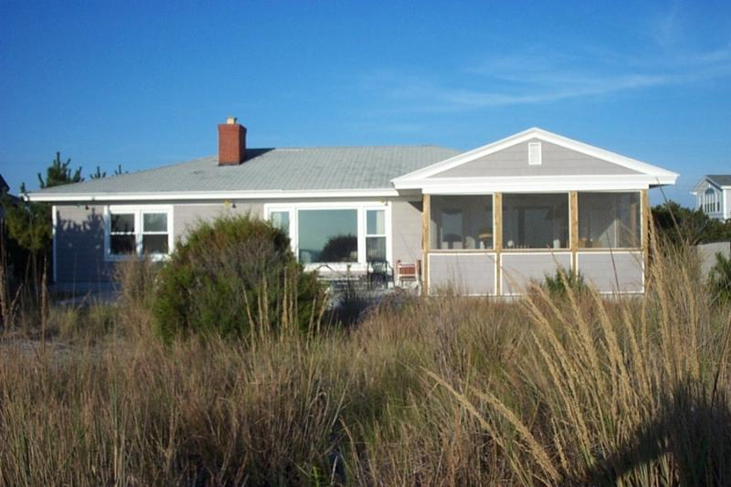 Oceanfront 4 bedroom home with screened porch! - Image 1 - Bethany Beach - rentals