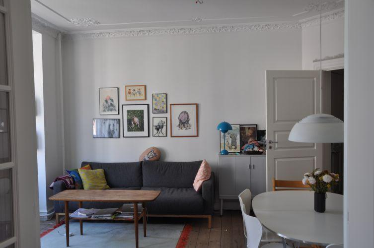 Julius Bloms Gade Apartment - Spacious Copenhagen apartment near Assistens cemetery - Copenhagen - rentals