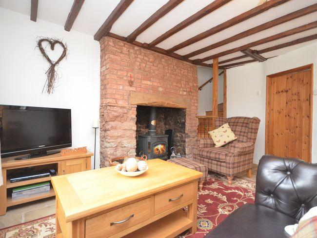 Lounge area with woodburner - COUR1 - Minehead - rentals