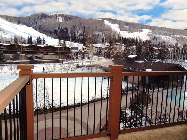 Private Deck with Views of Golden Peak and Vail Mountain - Great views of the mountains. A Penthouse vacation condo at Manor Vail Lodge - Vail - rentals
