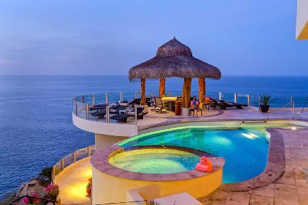 Spectacular Views from Oceanfront Cliff Retreat - Penasco - Image 1 - Cabo San Lucas - rentals