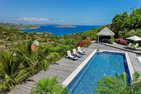 Villa La Plantation offers unparalleled ocean views, gazebo and housekeeping - Image 1 - Petites Salines - rentals