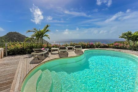 Sleek Gouverneur Cliff with superb ocean views, tranquil pool & walk to beach - Image 1 - Gouverneur - rentals