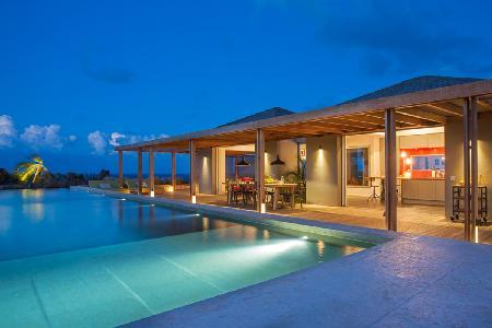Exotic Imagine Villa with spacious deck, Bali stone pool & housekeeping - Image 1 - Marigot - rentals