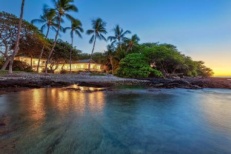Puako Beach House - private ocean access - delight in sounds & smells of swaying coconut trees - Image 1 - Puako - rentals