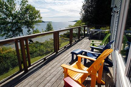 Views from the deck - #13 Tanners Place, Lunenburg, NS - Lunenburg - rentals