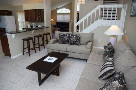 Fabulous 4 Bedroom 2.5 Bathroom Two Story Villa. 460MA - Image 1 - Orlando - rentals