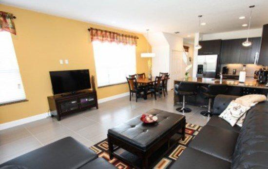 Dream 3 Bedroom 3 Bath Town House near Disney with Pool. 17535PA - Image 1 - Orlando - rentals