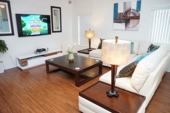 Beautiful 4 bedroom 2.5 bathroom villa at Westhaven close to Disney. 708BD - Image 1 - Kissimmee - rentals