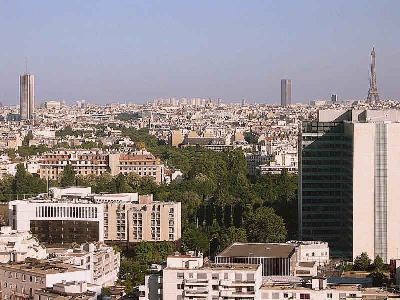 Paris as seen from the apartment - Bright, calm, panoramic view, Wifi, phone, parking - Courbevoie - rentals